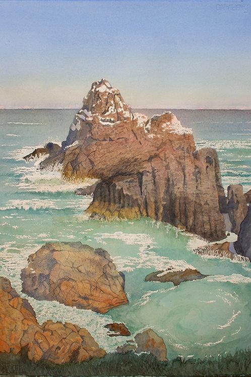 """""""Pinnacle Rock"""" Point Lobos, Carmel, California"""
