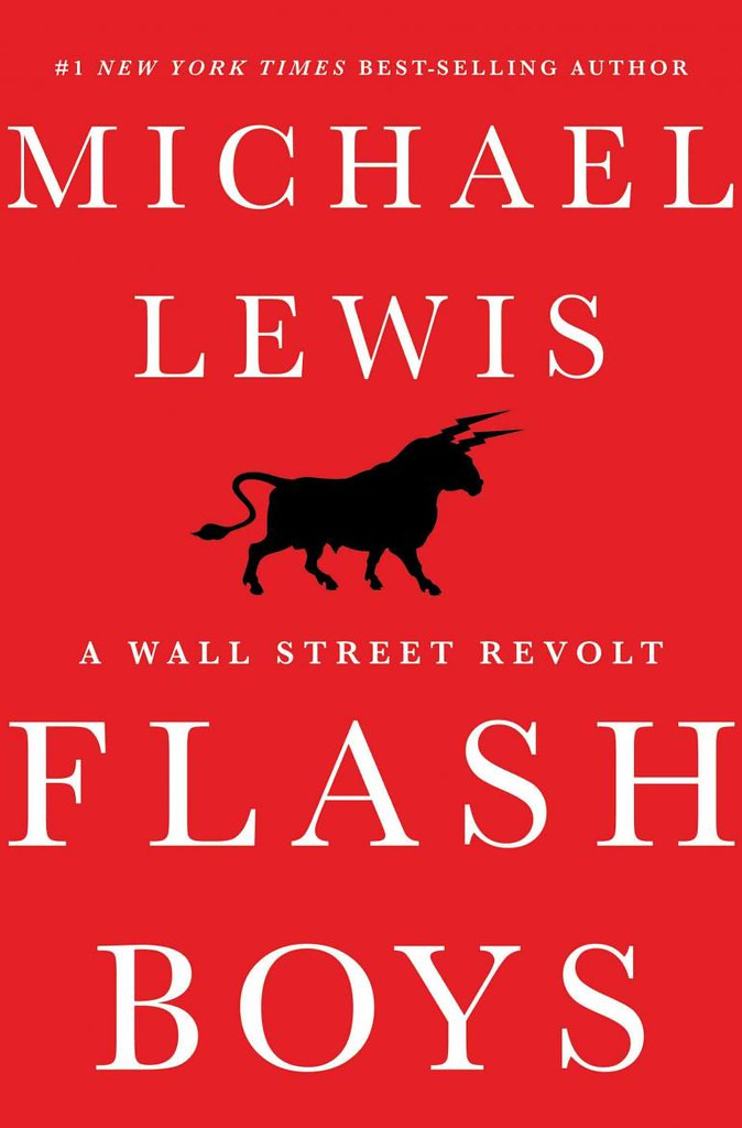 Cover image for Michael Lewis' book Flash Boys