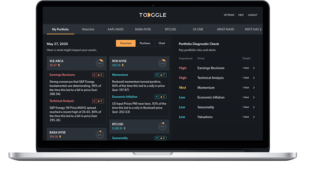 TOGGLE Copilot Portfolio Overview