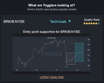 Popular insights on TOGGLE