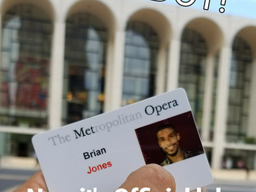 I'm an Acrobat in Turandot at the Met!