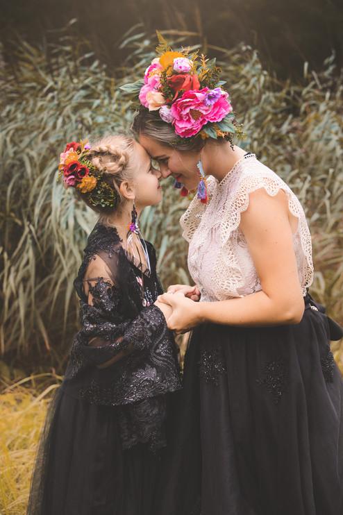 fotenie mamina a dcéra