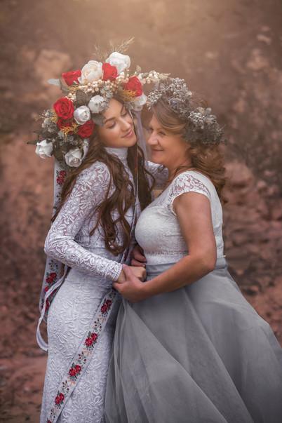 Mamina s dcérou