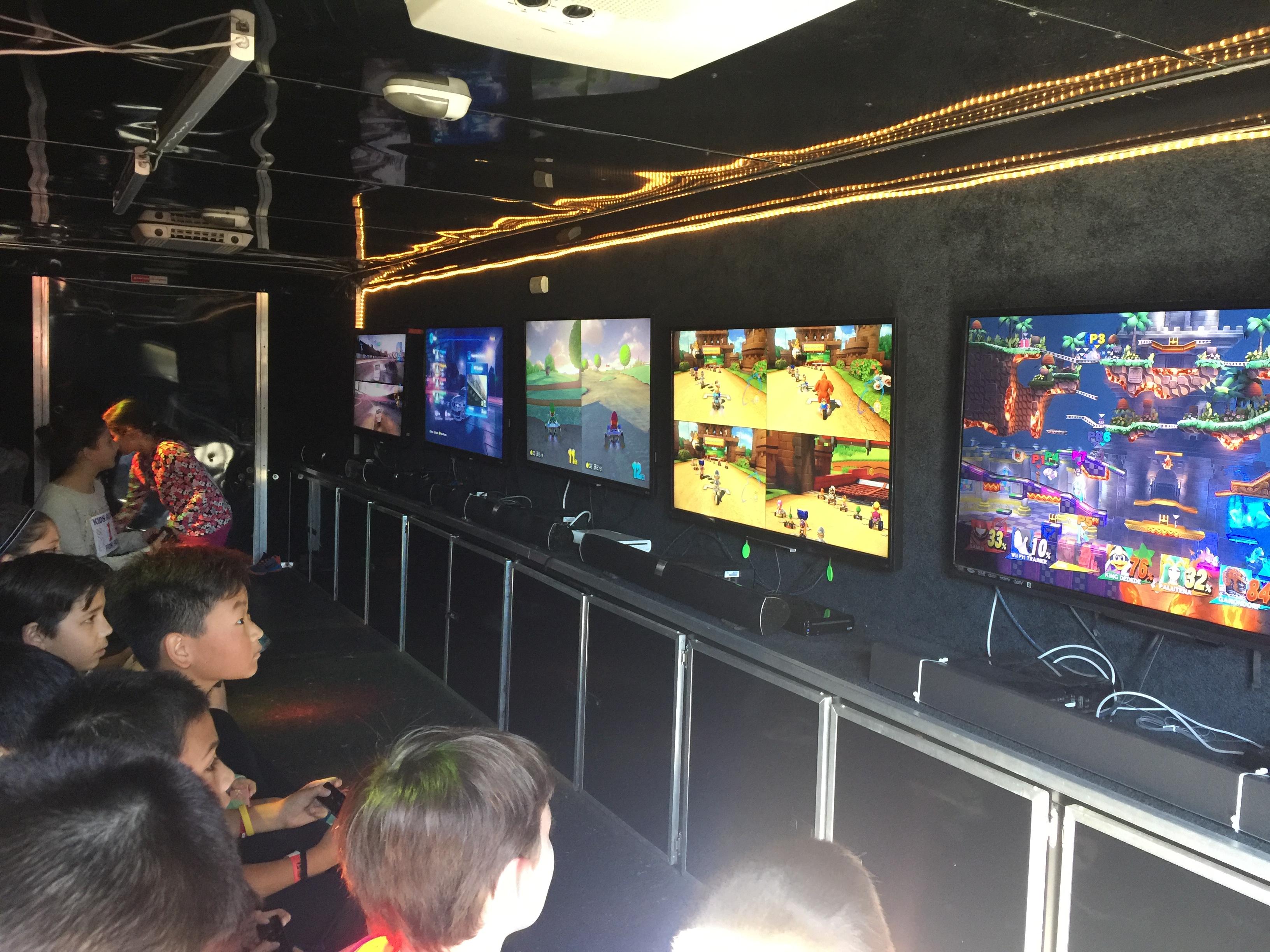 Video Game Trailer Interior