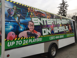 Game Bus Side
