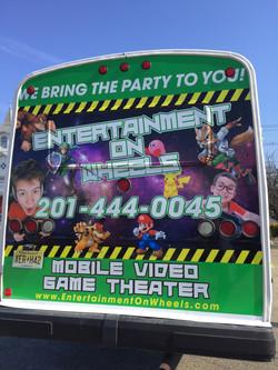 Game Bus Rear