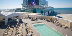 Rooftop Pool at Caesar's AC