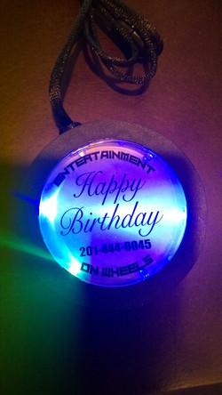 LED Light Up Medallion