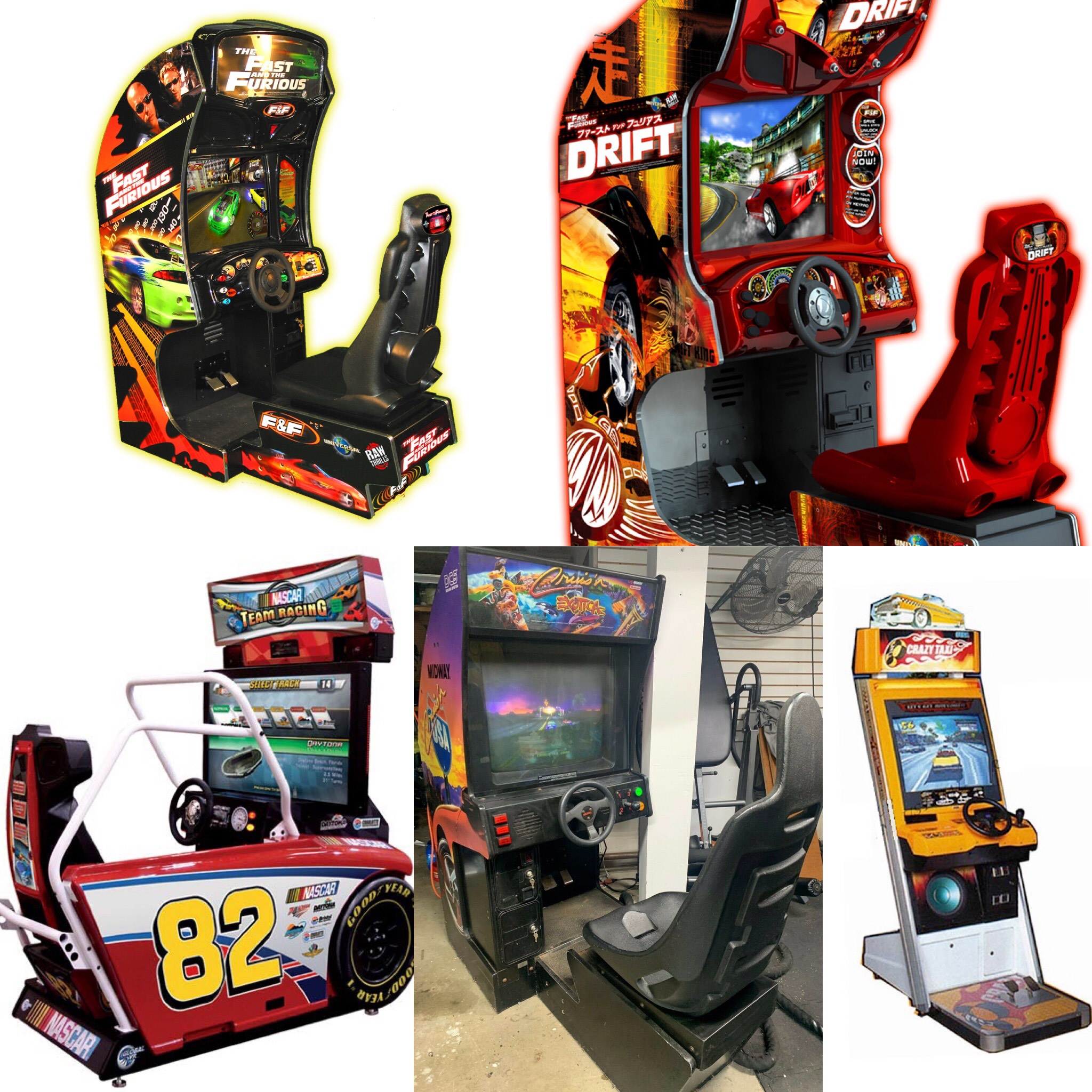Racing Arcade Multi Pic