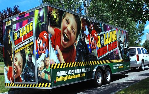 Entertainment on Wheels Mobile Game Trucks