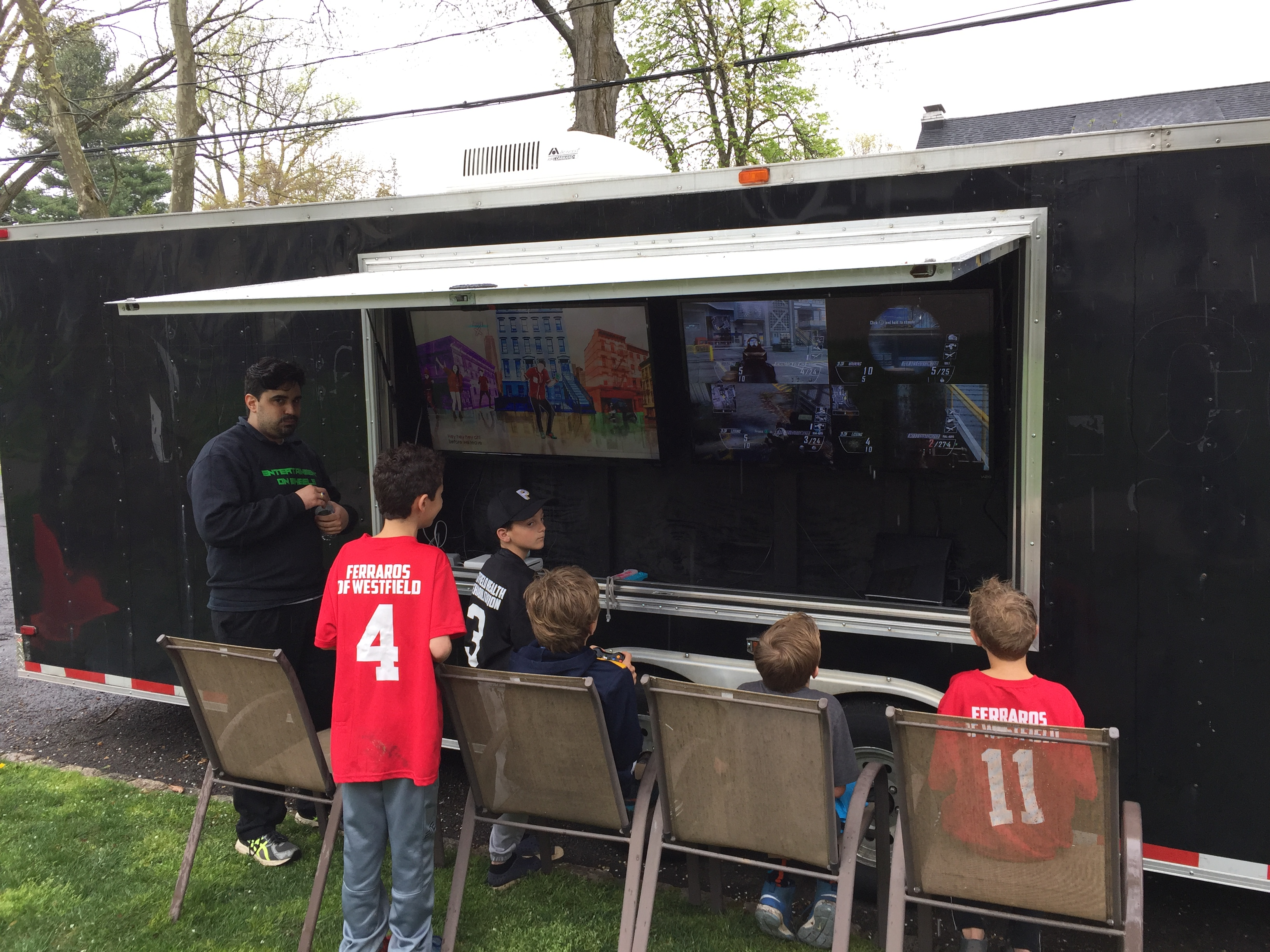 Party Trailer Outside