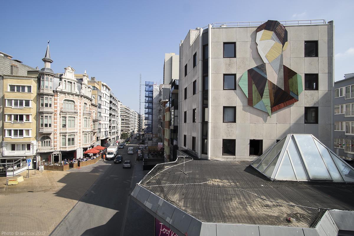 Mural en Ostend, Bélgica