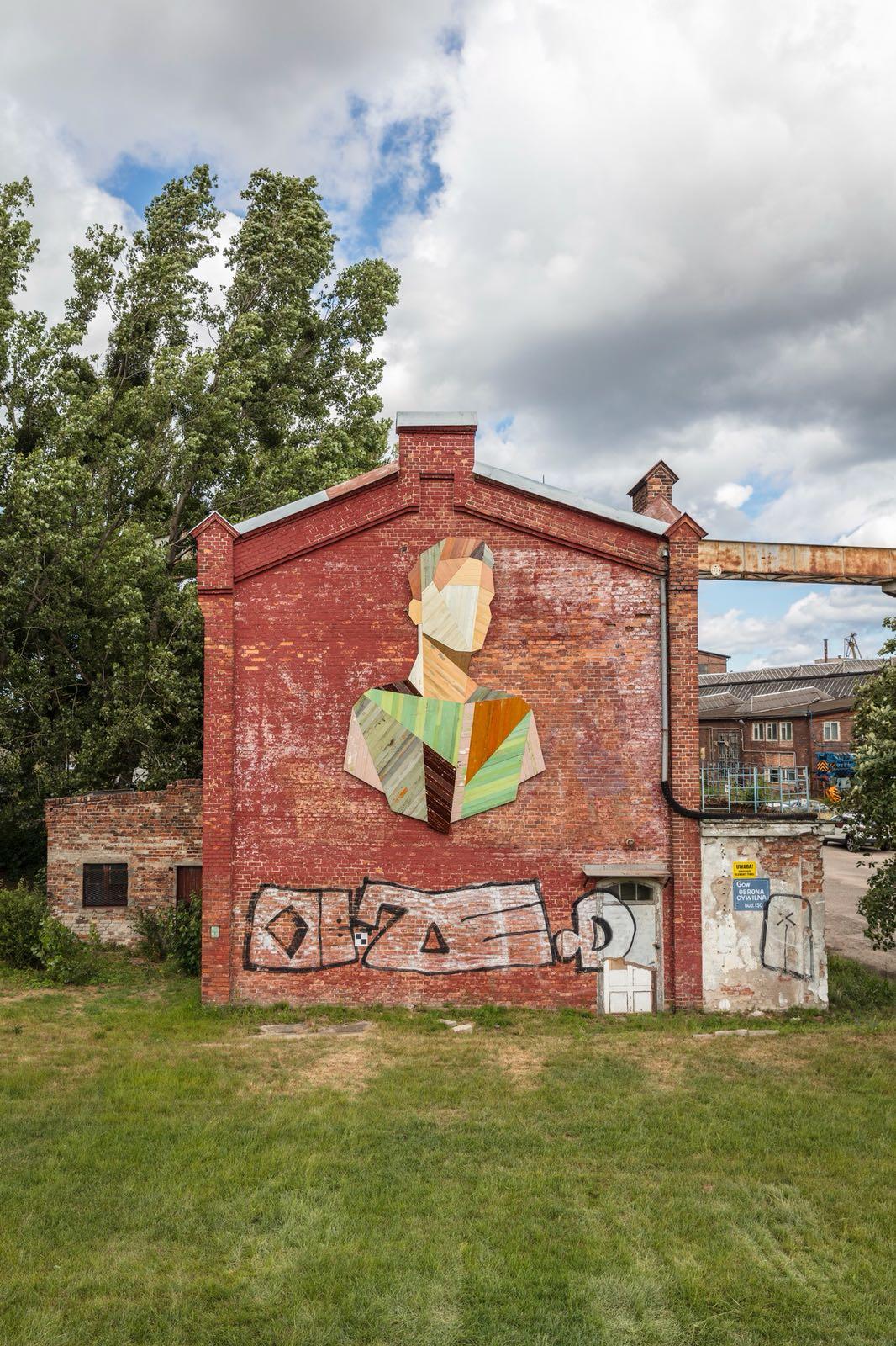 Mural en Gdansk, Polonia