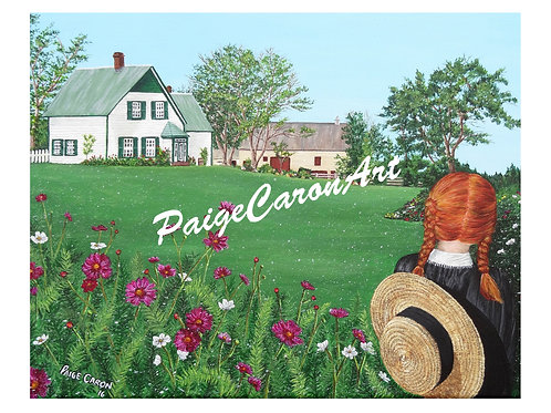 """Looking on with Love"" - Anne of Green Gables, Digital Reproduction Prin"