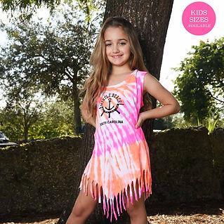STYLE #1614 Neon Dye French Tank Dress.j
