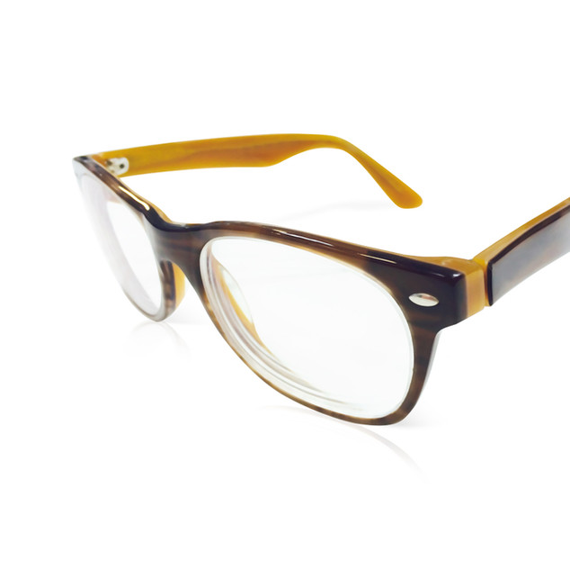 Yellow & Brown Frames
