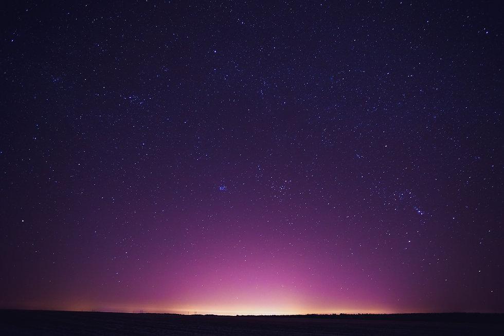 Natural Real Night Sky Stars Background Texture. Sunset, Sunrise Over Field.jpg