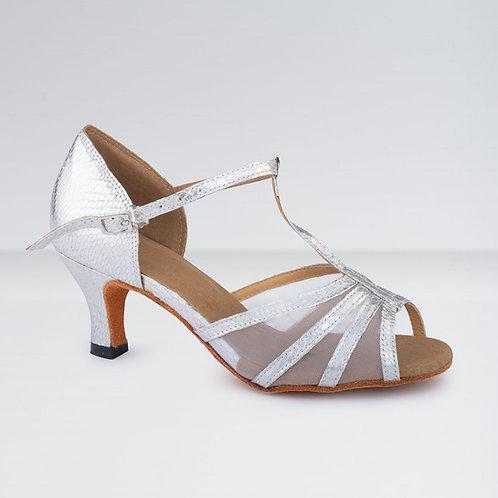 T-Bar Mesh Ballroom Shoes (5cm Heel)