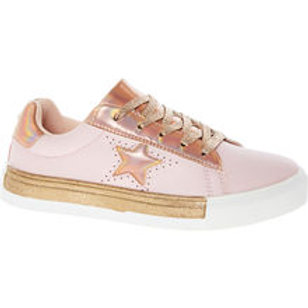 PINEAPPLE - Pink & Rose Gold Star Trainers