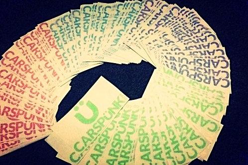 Carspünk Vinyl Sticker x1
