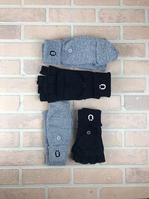 Carspünk flip top gloves
