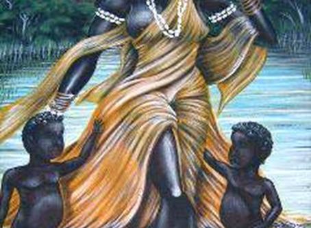 The beautiful Goddess Oshun