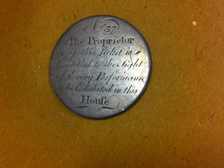 Bristol Old Vic - Silver Proprietors Tickets (Ticket 37 1766)