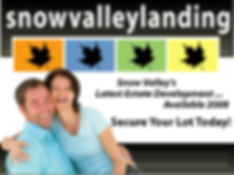 Snow Valley Landing