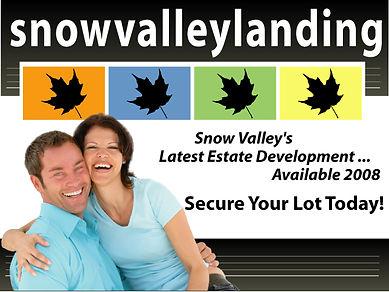 Snow Valley Landing
