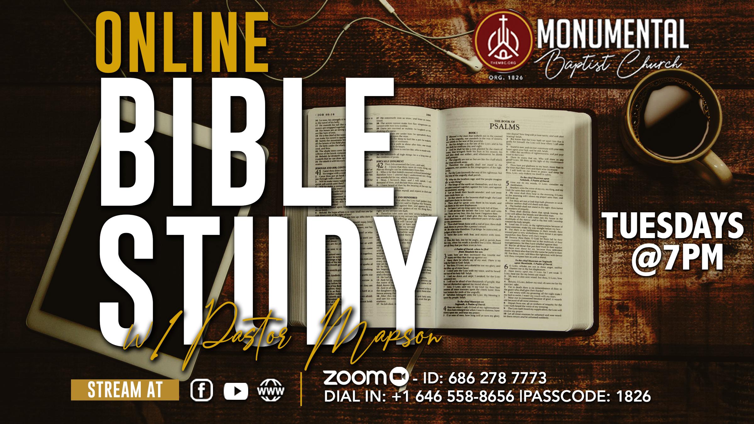 MBC Online Bible Study