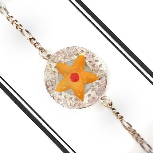 Silver Star Rakhi
