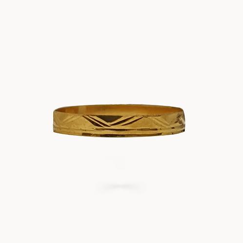 Gold Minimal Band