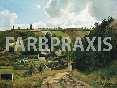 Camille Pissarro | Jalais Hill | Pontoise 1867