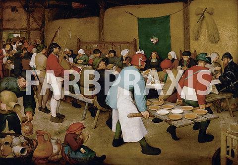 Pieter Bruegel der Ältere | Die Bauernhochzeit 1568-69