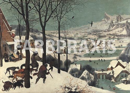 Pieter Brueghel der Ältere | Die Jäger im Schnee | 1565