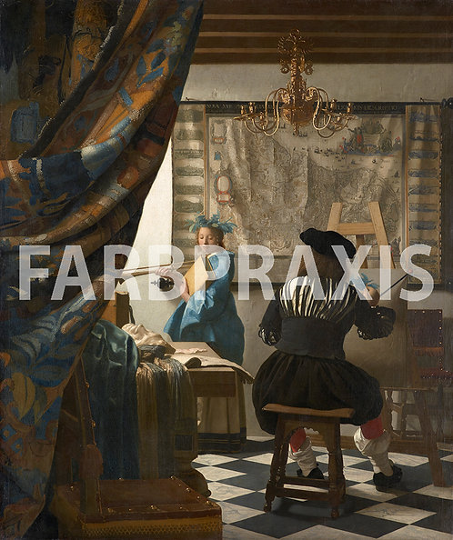 Johannes Vermeer van Delft | Die Malkunst