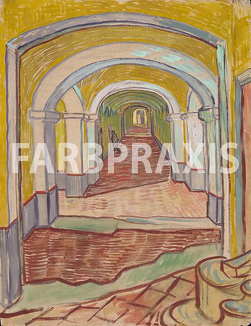 Vincent van Gogh | Corridor in the Asylum | 1889