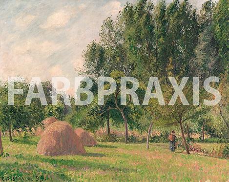 Camille Pissarro | Heuhaufen, Morgen | Éragny 1899