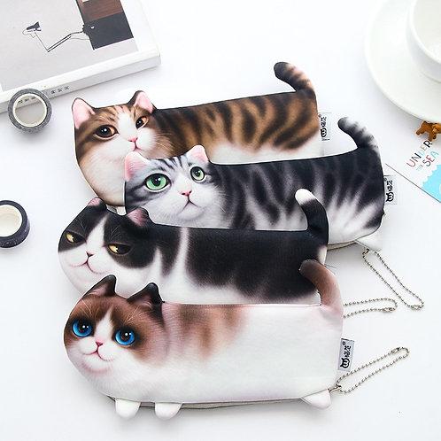Cartoon Cat Pencil Case