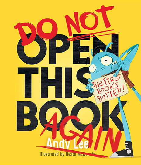 Do Not Open This Book Again - Andy Lee