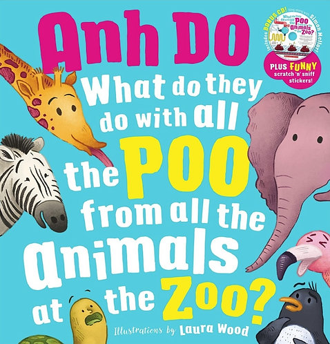 What Do They Do with all the Poo from all the Animals at the Zoo? - Anh Do