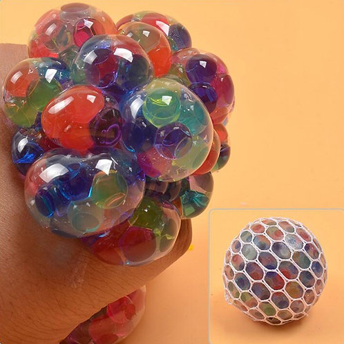 Colorful Grape Ball Squishy Toy