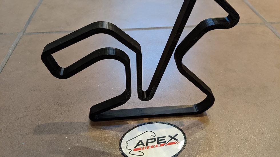Jerez SPAIN wall art race track racing circuit layout sculpture desk table motorsport motor wallart circuitart trackart motor