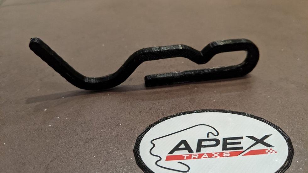 Curborough UK wall art race track racing circuit layout sculpture desk table motorsport motor wallart circuitart trackart mot