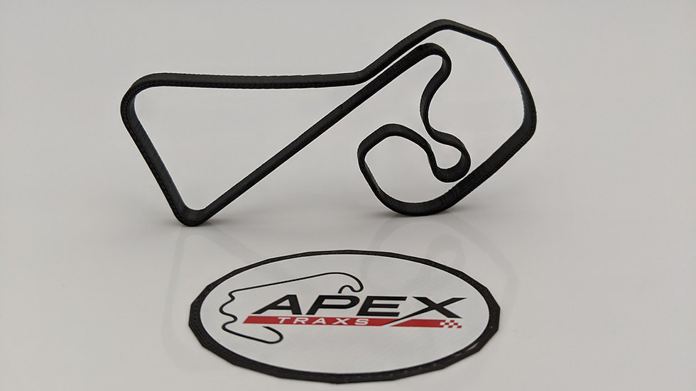 Sachsenring GERMANY circuit wall art race track racing circuit layout sculpture desk table motorsport motor wallart circuitar