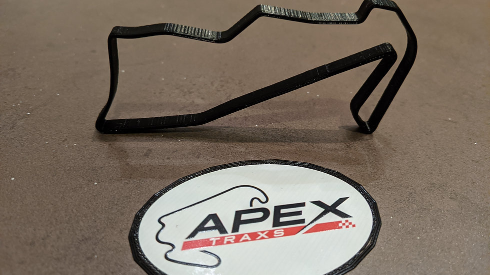 Townsville Reid Park Street Circuit AUSTRALIA wall art race track racing circuit layout sculpture desk table motorsport motor