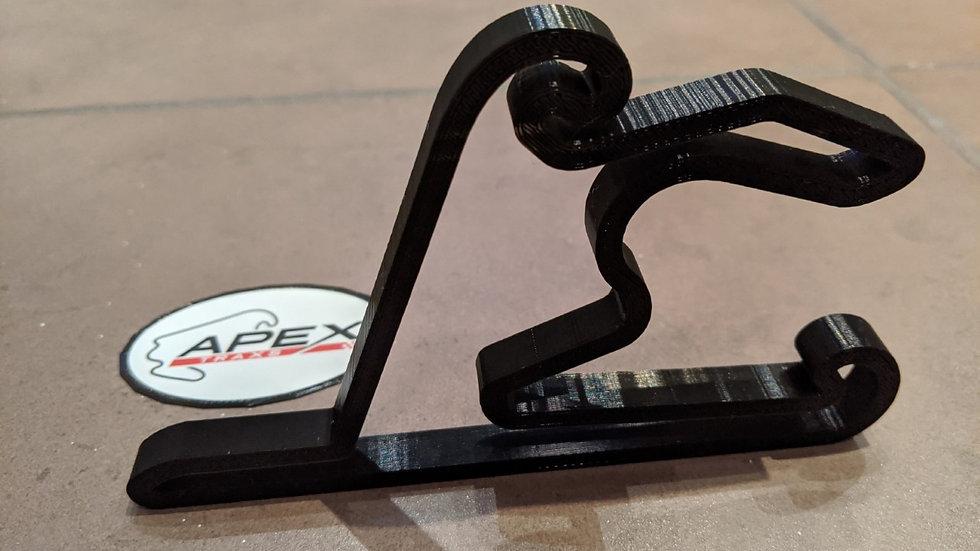 Shanghai International Circuit CHINA wall art race track racing circuit layout sculpture desk table motorsport motor wallart