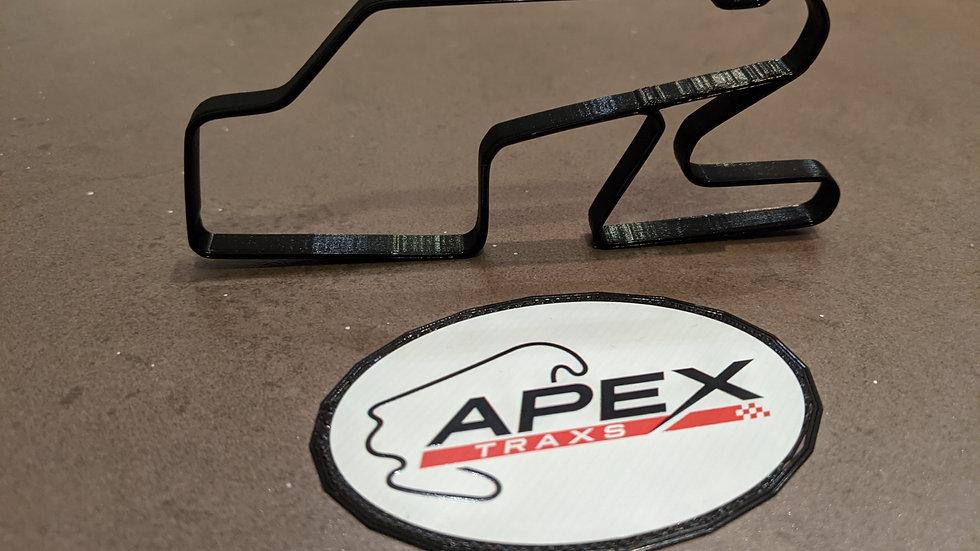 Watkins Glen International USA wall art race track racing circuit layout sculpture desk table motorsport motor wallart circui