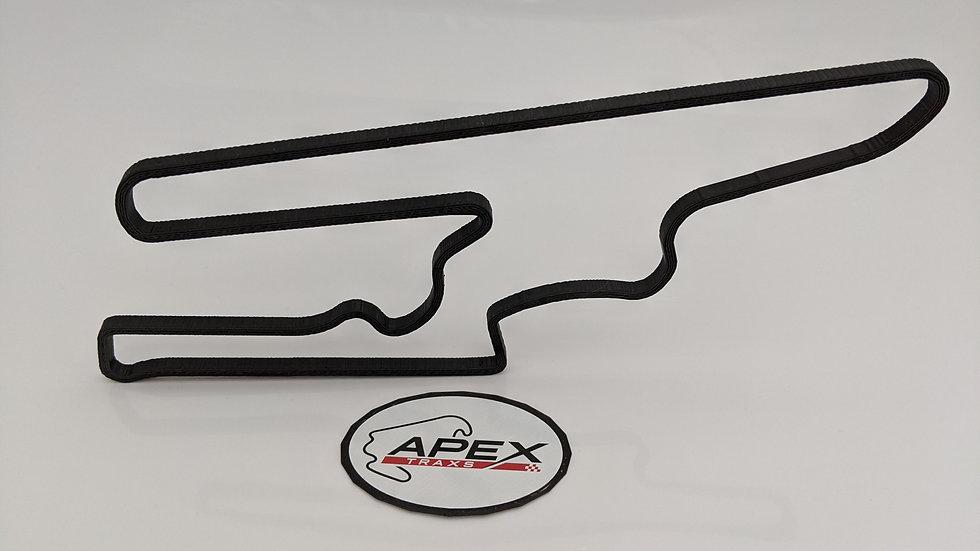 San Juan ARGENTINA wall art race track racing circuit layout sculpture desk table motorsport motor wallart cir