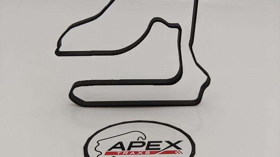 Sebring International Raceway USA circuit wall art race track racing circuit layout sculpture desk table motorsport motor wal